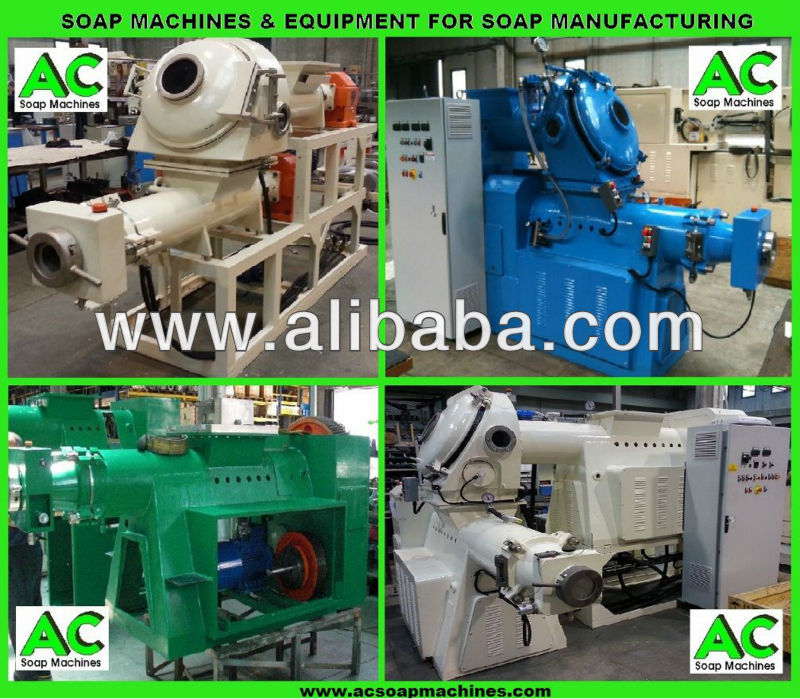 Used Soap Making Machinery