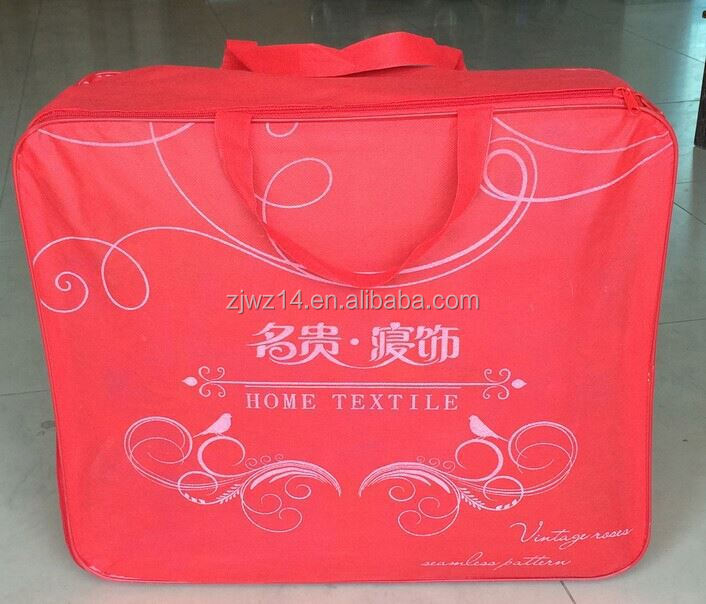 cheap fashion pvc non woven bag/ silver foil bags/ laminated polypropylene tote bag