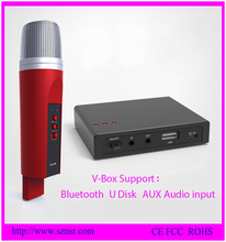 2016 New idea! Wireless Bluetooth Handheld home theater Microphone for home theater system