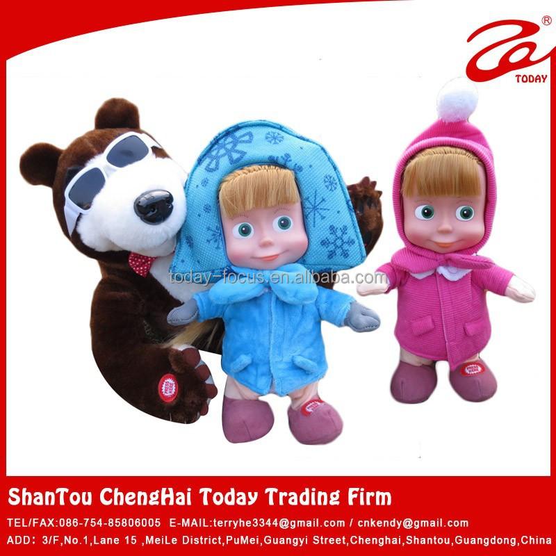 2015 vendita calda masha e l 39 orso bambola giocattolo for Masha giocattolo