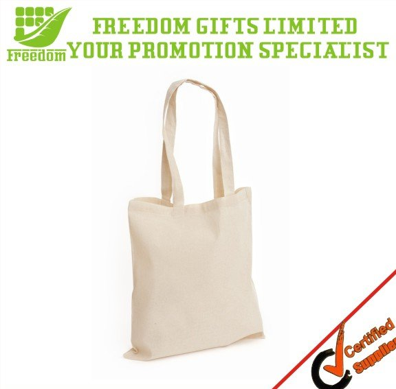 Promotional Customized Logo Printed 100% Cotton Tote Bags