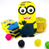 Best Price case for iphone 6 6s, Lovely minions for iphone 6 6s case,for iphone 6 6s minions Silicone Case