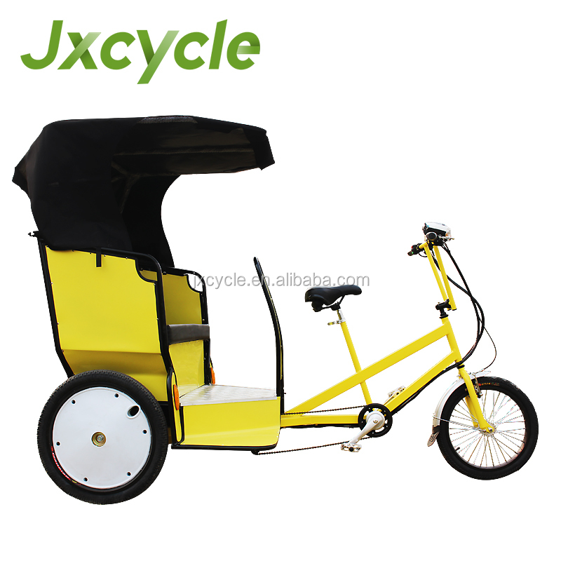 Beautiful Bikes Electric Tricycle Pedicab Rickshaw