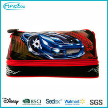 Wholesale Fashion Stationary Pencil Cases with 2 layers for Kids from School Bag Manufacturer