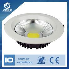 Dimmable optional recessed 15 watt led down light warm white cob led downlight