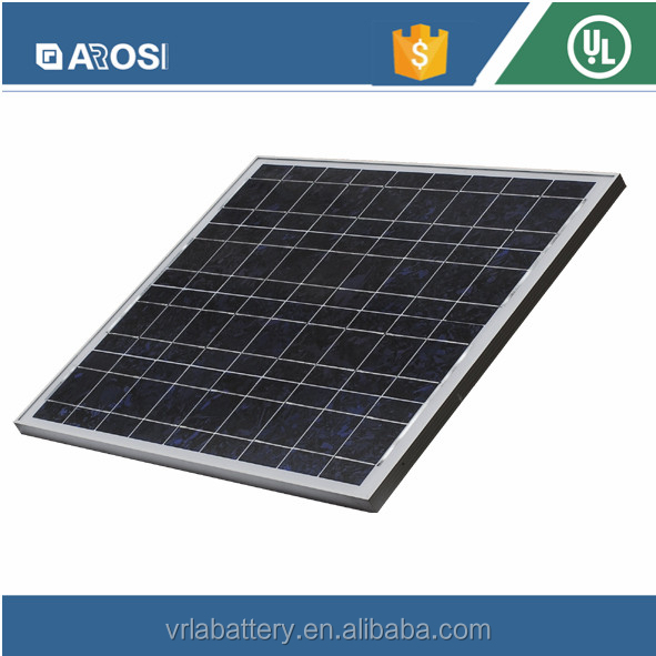 Poly Solar Panel of A Grade Cells Capable solar panel of Anti-wind, snow and hail