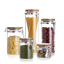 Factory direct custom size high borosilicate snap seal storage tank <strong>glass</strong> <strong>jar</strong>