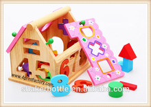 Funny House DIY Educational Wooden Toys For Kids Playing/Training