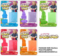 Wholesale Kids Eduacational Sand Toy with 90g sand , kids play sand toy