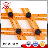 Wholesale Price Plastic Multi-Angle Ruler Template Measuring Tool