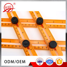 Wholesale Price Plastic Multi-Angle Ruler Template Measuring Tool