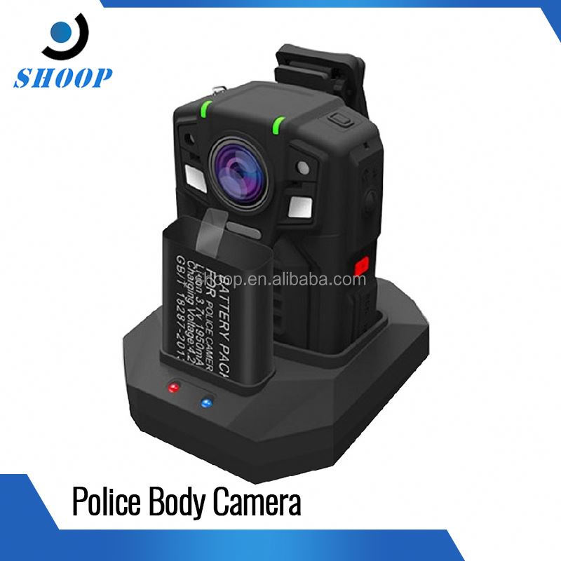 64GB Built-in 3900mAh WIFI GPS 4G Digital Infrared police body camera