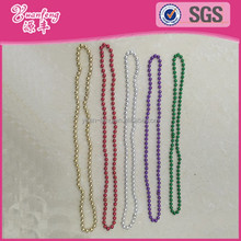 Wholesale mardi gras latest design necklace beads plastic beads chains