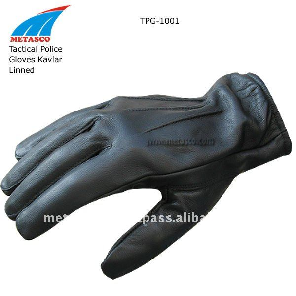Tactical Police Gloves with Kevlar Lining, Police Gloves, Swat Gloves