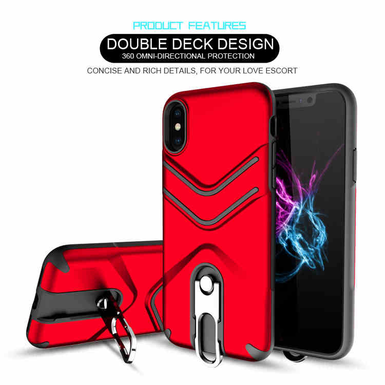 New Arrival Convenient Carry tpu pc armor shock proof hard case for iphone x