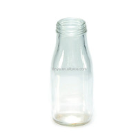 330ml Clear Glass Beverage Bottle for Watermelon juice