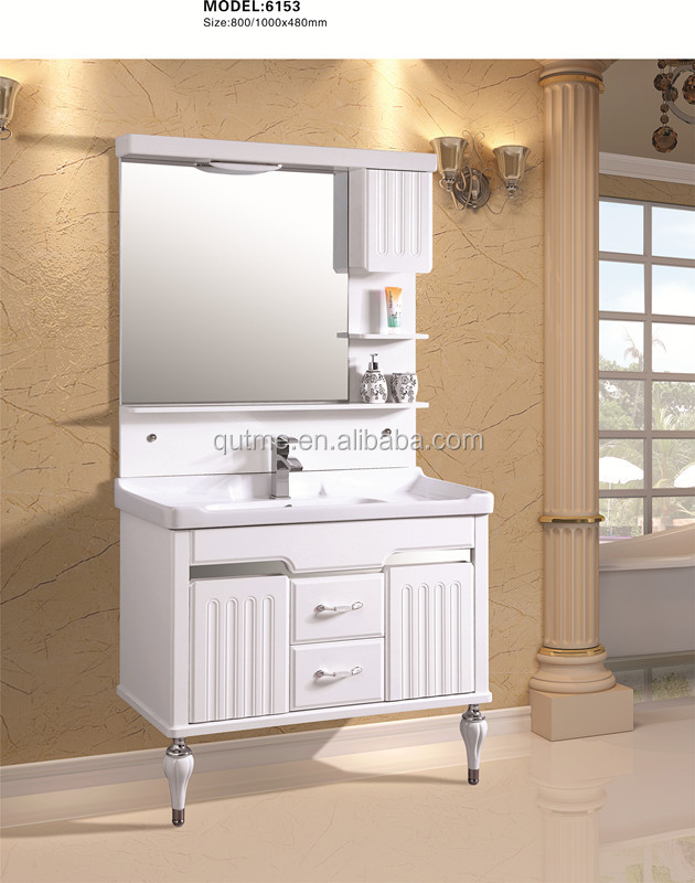Autme handware aluminum mirror bathroom vanity <strong>cabinet</strong> with light