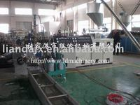 Recycling granulating system