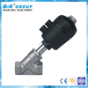1 1/2 Inch Stainless Steel Thread Pneumatic Angle Seat Valve