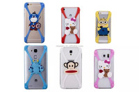 New Universal Silicone Frame bumper 3D Cartoon Minnie Kitty Mobile Phone Bumper For all mobile phone