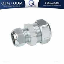 carbon steel pipe fitting hydraulic tube fitting reducer coupler compression fitting
