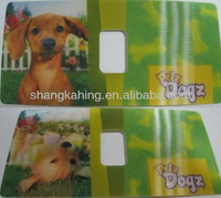 Custom/customized made 3D lenticular sticker,hologram sticker in 3D or 2D graphic effect
