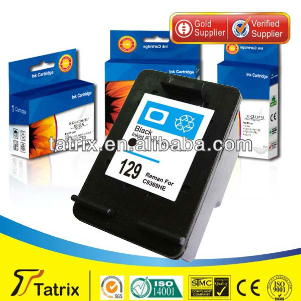for HP129 , AAA+ for HP129 Ink Cartridge for HP 129 . Mainly Ink Cartridge Supplier In USA.
