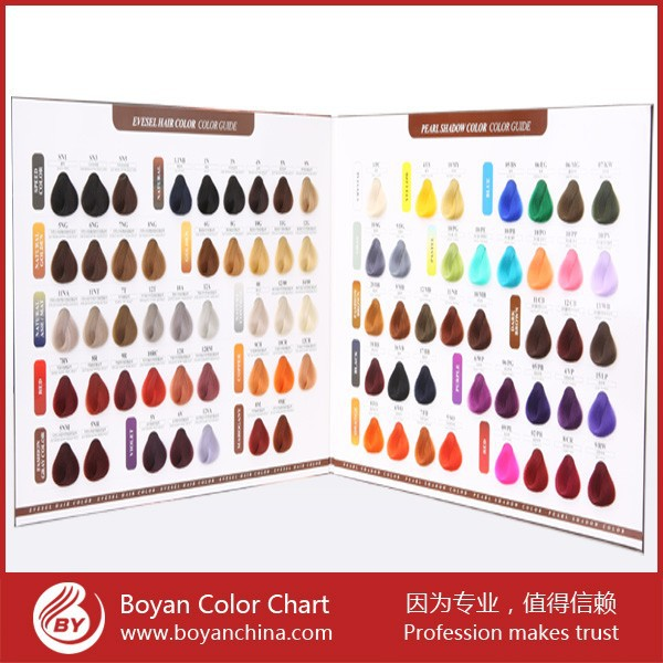 Salon Hair Colour Chart Paint Colour Chart Printing Buy