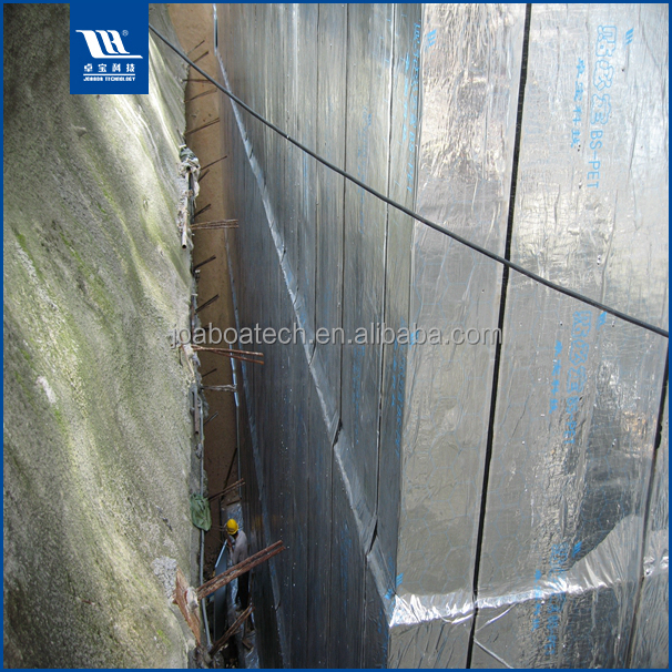 Aluminum Film Covered Bitumen Waterproofing Material Rolls for Roof