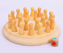 Fashional Toy Kids Wooden Memory Developing Compete Chess