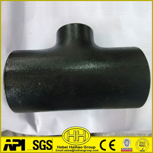 ASTM A234 WPB sch40 reducing tee
