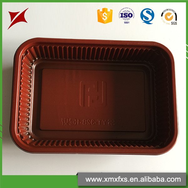 Custom made food packaging plastic pp disposable meat packing tray