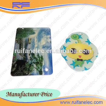 BEST Adorable fashionable design active mini factory RFID epoxy card factory RFID cystal tag