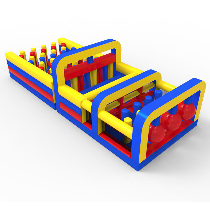 16100413-3 Creative design factory directly inflatable obstacle course for sales