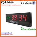 [Ganxin] Crossfit LED 4-Digits Interval Timer Large Gym Wall Clock w/Remote Garage WOD