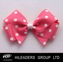 RB820 Hot sale 100%polyester mini ribbon bows for hair decoration