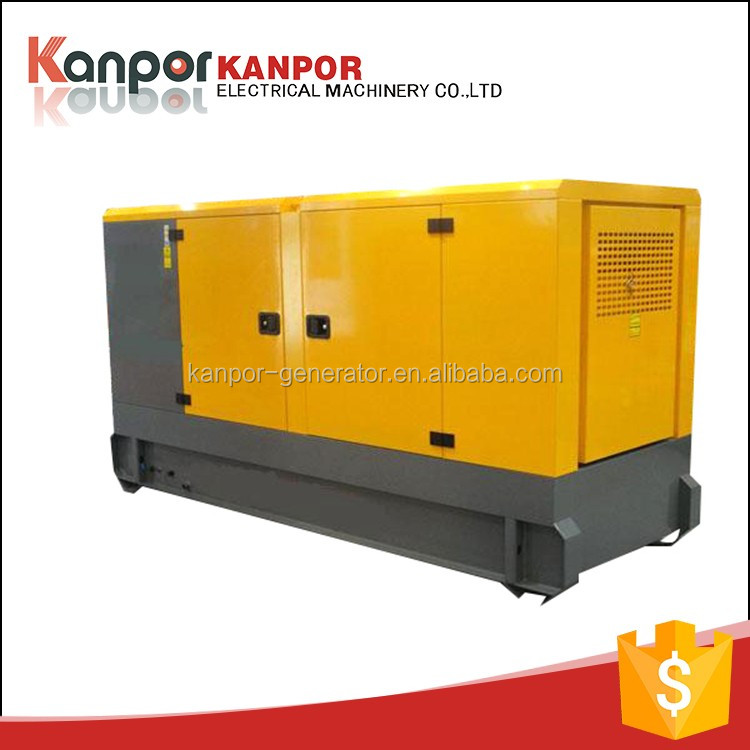 OEM CE approved 30KW AC three phase water cooled super silent diesel generator