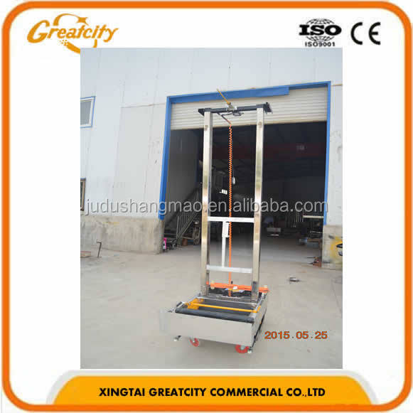 hot sell high quality fair price Stainless Steel automatic lime spray plaster rendering machine for building