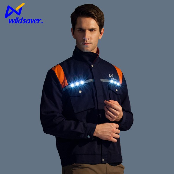 Pockets Workers reflective LED Man Suit