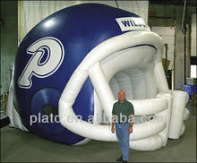 inflatable helmet for advertisment inflatable sports