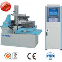 economical easy clean spark erosion machine, cnc wire cutting machine