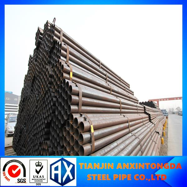 scaffolding material specification!black mild steel erw pipe!MS tube,pipes