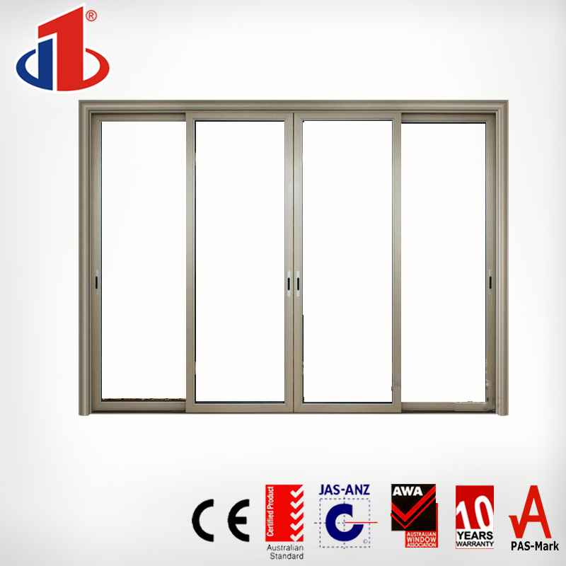 2017 Modern security soundproof interior sliding Glass Door for house