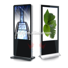"new advertising ideas! 46"" kiosk led screen digital signage outdoor advertising display stand"