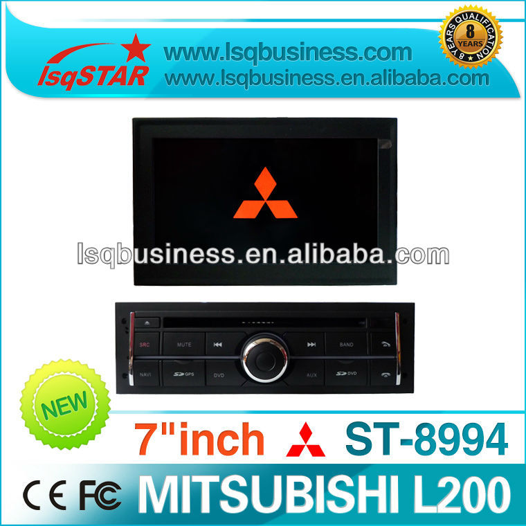 Mitsubishi L200 automobile with GPS/bluetooth/ RDS/USB LCD monitor ST-8994