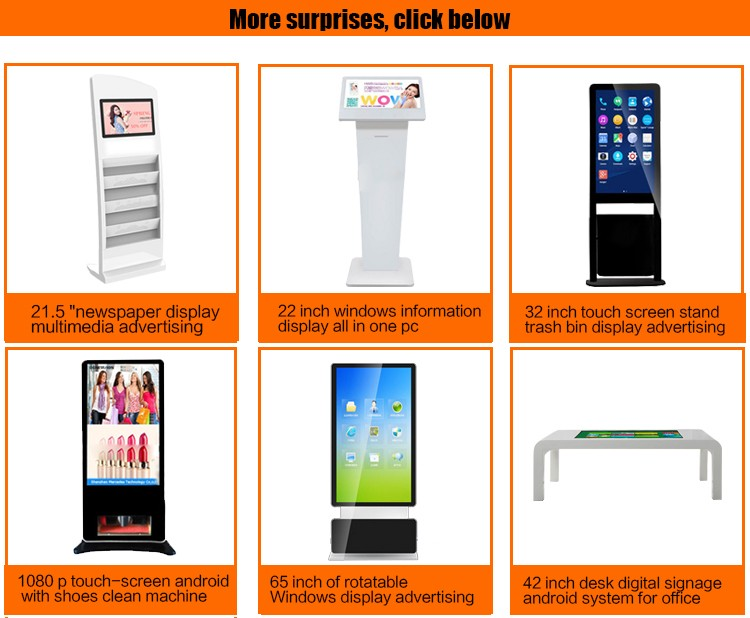 43inch Android Advertising Kiosk Floor Standing Media Player Totem Digital Signage Standee with Remote Managing