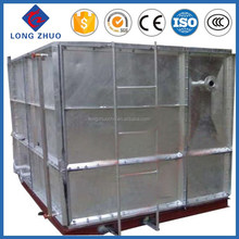1.22m*1.22m Quality products factory price hot dipped galvanized steel pressure storage water tank