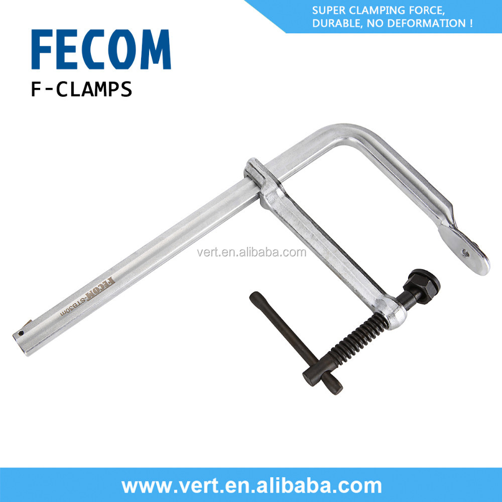 FECOM heavy duty f clamp metal fence post clamps quick release clamps STB series