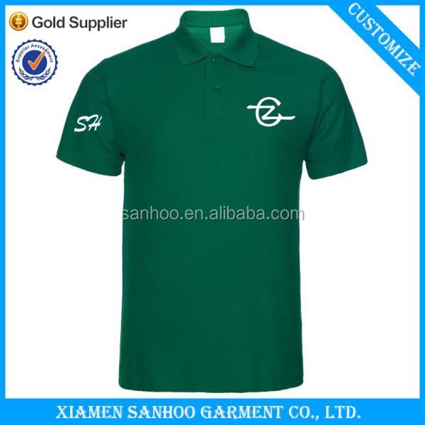 Unisex navy blue polo shirts cheap custom solid color golf for Custom printed polo shirts cheap