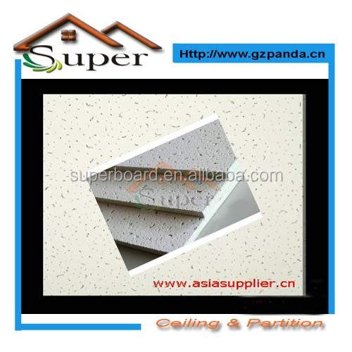 Mineral Fibre Board Ceiling Tiles Building Materials in China